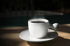 Coffee break in the afternoon Royalty Free Stock Photography