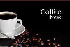 Coffee Break Background Stock Photos