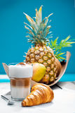 Coffee Break at the beach Royalty Free Stock Photography