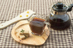 Coffee break, black coffee Royalty Free Stock Images