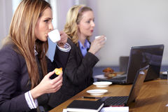 Coffee break during business meeting Royalty Free Stock Image