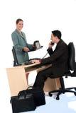 Coffee break business office Stock Photos