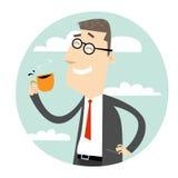 Coffee Break vector illustration