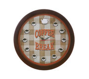 Coffee Break Clock Stock Photos
