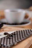 Coffee break concept, home organic theme Royalty Free Stock Photos