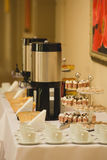 Coffee break at conference meeting. Stock Photography