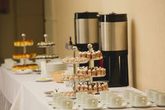 Coffee break at conference meeting. Stock Images