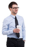 Coffee break. Royalty Free Stock Image