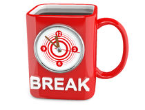 Coffee break cup Royalty Free Stock Photos
