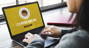 Coffee Break Drink Free Time Concept Royalty Free Stock Images