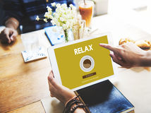 Coffee Break Drink Free Time Concept Royalty Free Stock Photos