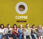 Coffee Break Drink Free Time Concept Stock Image
