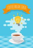 Coffee Break Inspirational Idea Royalty Free Stock Image
