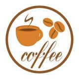 Coffee break label Royalty Free Stock Photo