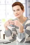 Coffee break in office Royalty Free Stock Image