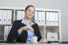 Coffee break at the office Royalty Free Stock Photo