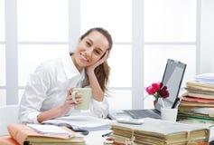Coffee break in office Stock Images