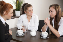 Coffee break in the office Royalty Free Stock Photos