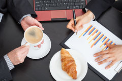 Coffee break at the office Royalty Free Stock Photography
