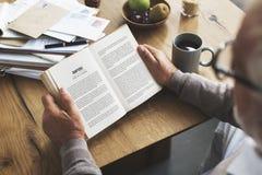 Coffee Break Reading Travel Book Lifestyle Concept Stock Photos