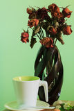 Coffee break and relax time. On good day Stock Image