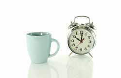 Coffee break at ten o clock Stock Photos