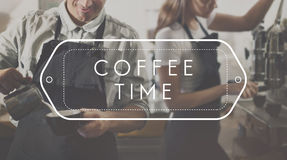 Coffee Break Time Culture Relaxation Enjoyment Concept Stock Images