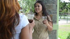 Coffee break stock video footage