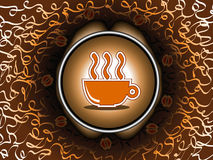 Coffee break - vector Royalty Free Stock Photography
