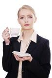 Coffee break at work Stock Photos
