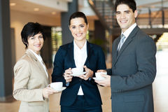Coffee break at work Royalty Free Stock Photography