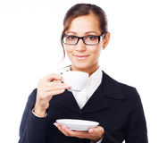 Coffee-break Stock Image