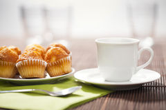 Coffee breakfast Stock Image