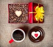 Coffee breakfast Stock Images