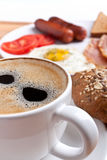 Coffee and breakfast Royalty Free Stock Photography