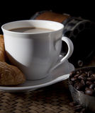 Coffee and breakfast meal Royalty Free Stock Photo