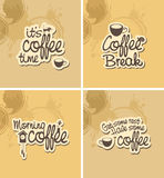 Coffee breaks Stock Photography