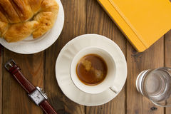 Coffee breaks at work. Royalty Free Stock Photography