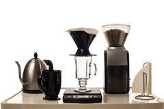 Coffee Brewing Station Royalty Free Stock Image