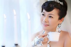 Coffee bride Royalty Free Stock Photography