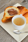 Coffee and brioches Royalty Free Stock Photo