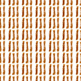 Coffee brown hand-painted stripes seamless background Stock Images