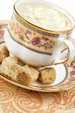 Coffee and brown sugar Royalty Free Stock Image