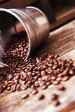 Coffee Bucket Concept Stock Image