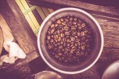 Coffee Bucket Royalty Free Stock Photo
