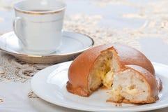 Coffee bun Stock Image