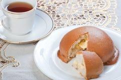 Coffee bun Royalty Free Stock Photo