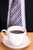 Coffee and a business man Stock Photo