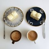You have breakfast with me royalty free stock images