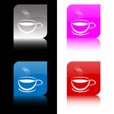 Coffee buttons Stock Photography
